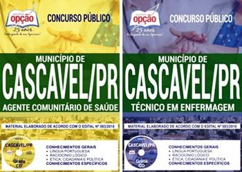Apostila Concurso Prefeitura de Cascavel PR 2018