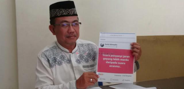 Dandy Rahmadila Tiru Sukmawati Lecehkan Islam, MUI Lapor Polisi