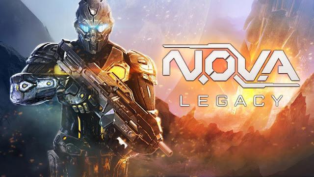 O Melhor Jogo de Tiro FPS para Android - N.OV.A Legacy Gameplay Campanha e Multiplayer