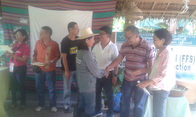 29 Luinab Farmers complete training on Vegetable Production at Balay sa Hardin