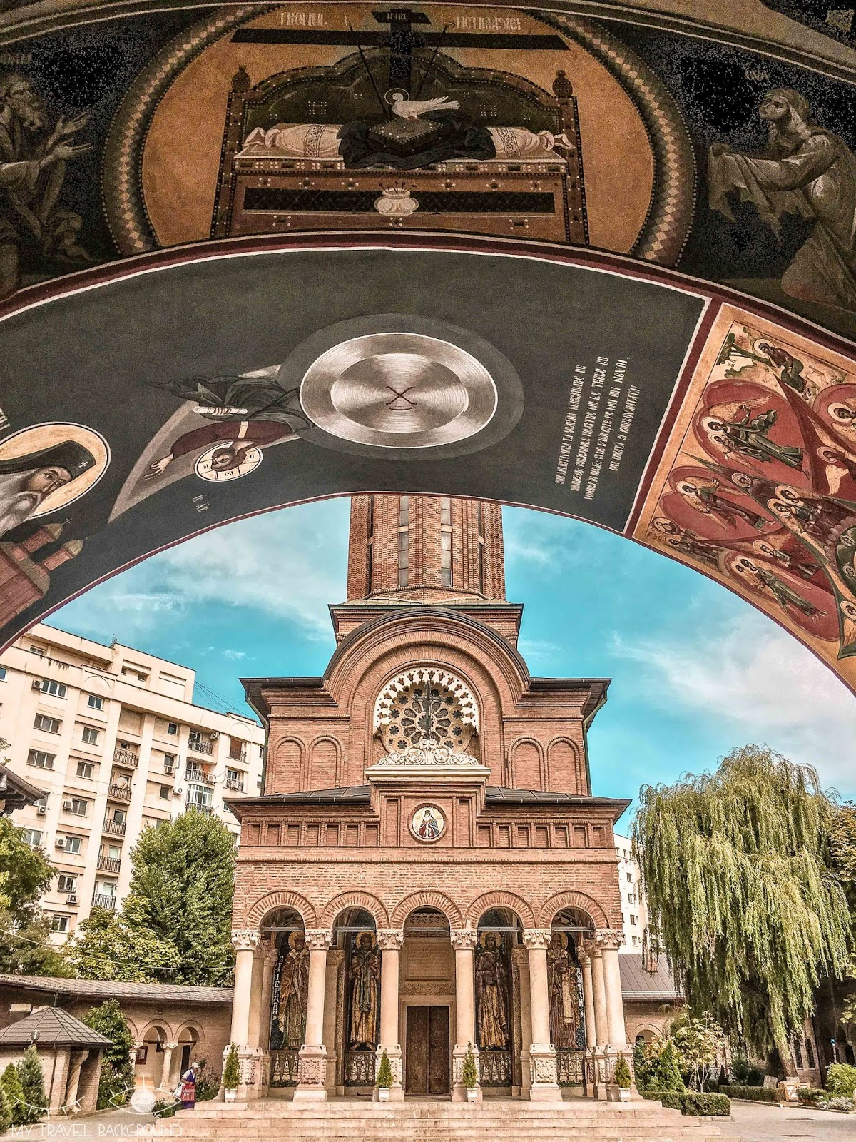My Travel Background : 3 jours à Bucarest en Roumanie - Monastère d'Antim