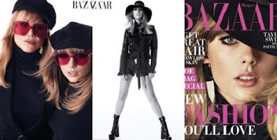 Taylor Swift dazzles on cover of Harper Bazaar Magazine