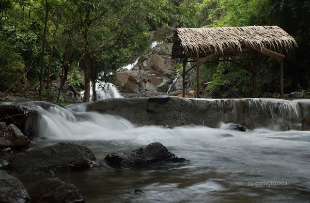 Cascades of Cabaruan Falls