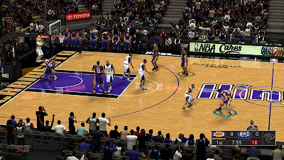 NBA 2K13 Sleep Train Arena Court Patch