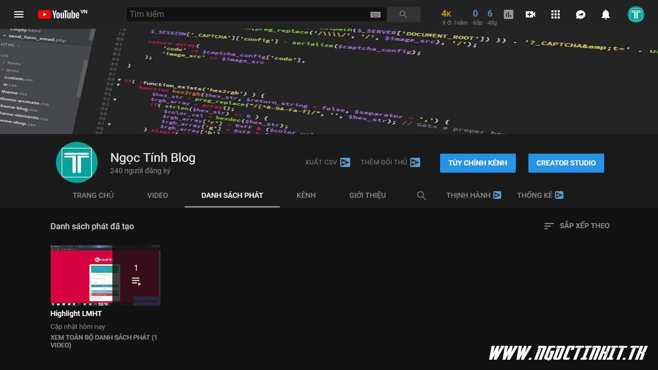 Hướng Dẫn Tăng 4K Giờ Xem Youtube Cực Nhanh