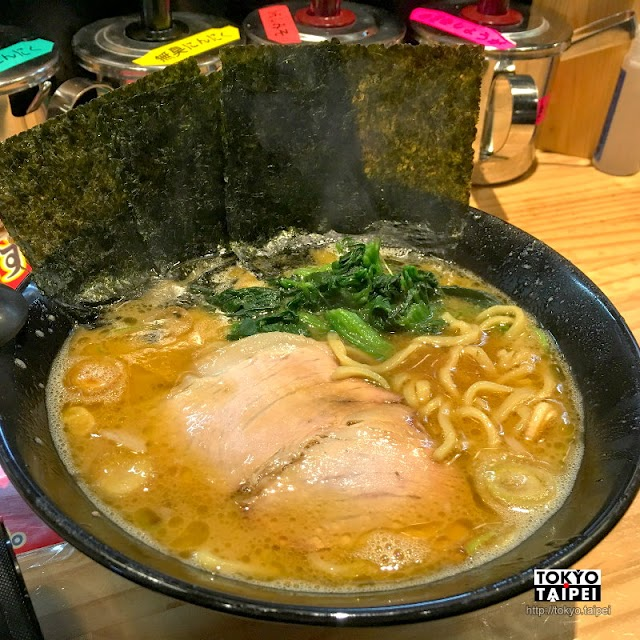 【橫橫家】超濃厚豚骨湯底 可自行調整口味的家系拉麵