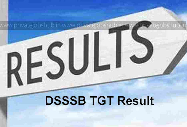 DSSSB TGT Result