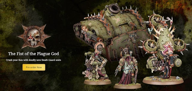 New Deathguard Characters and Tank! New 8th Edition Astra Militarum Codex!