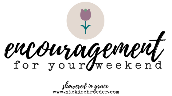 weekly encouragement for your heart, soul and marriage - Nicki Schroeder, Showered In Grace.