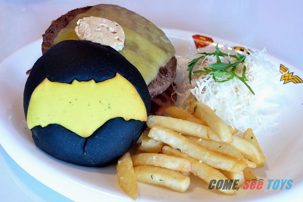 Dc Heroes Cafe Menu