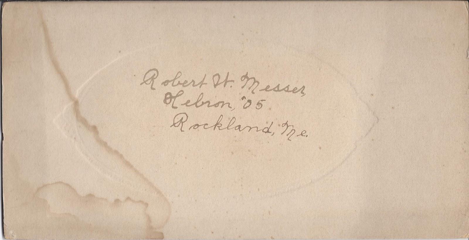Heirlooms Reunited: 1905 Graduation Photograph Of Robert W