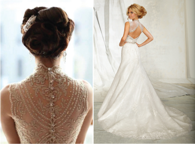 Unique Wedding Dresses Com: Lace Back Wedding Dresses