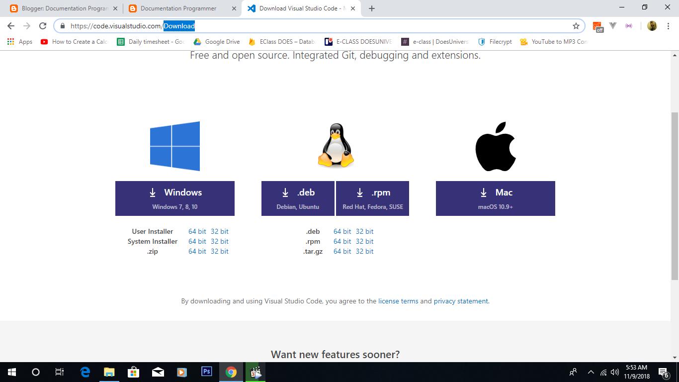 Free Download HTML Documentation | Documentation Programmer