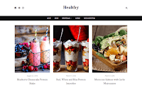 Template Blogger Makanan Sehat