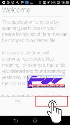 cara mengembalikan file foto di android