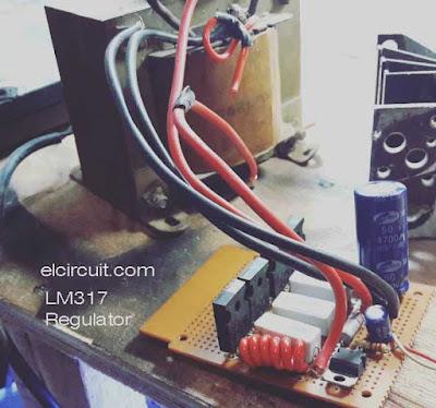 Power Supply Regulator Adjustable