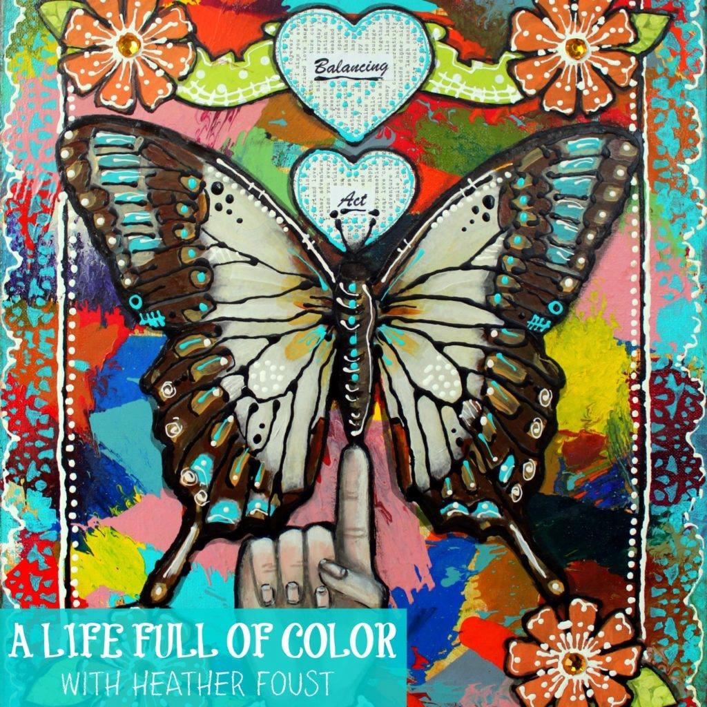 ONLINE CLASS - A LIFE FULL OF COLOR