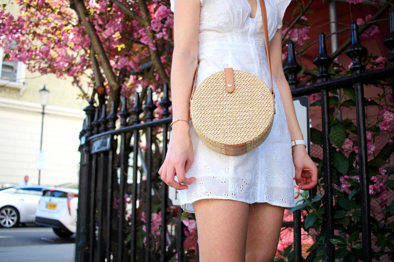 circle basket bag miss selfridge peexo blog