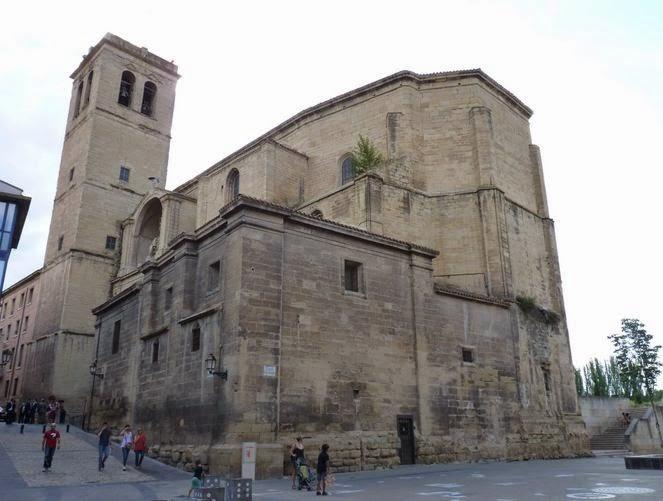 Iglesia de Santiago El Real de Logroño.