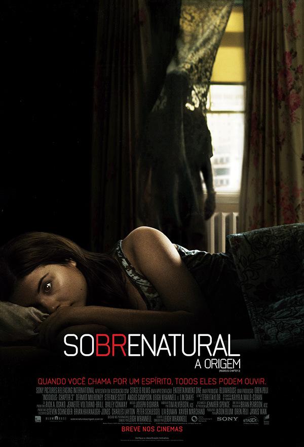 Trailer legendado e poster nacional de Sobrenatural: A Origem (Insidious: Chapter 3)