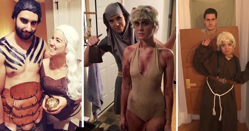 Halloween Game of Thrones costume
