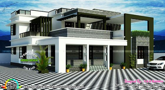 Contemporary house by S & K Builders