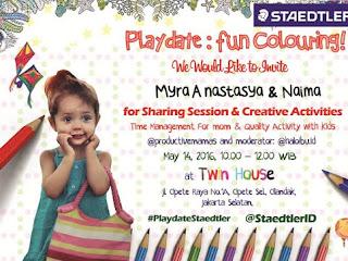 #PlaydateStaedtler Menciptakan Kebersamaan Antara Ibu dan Anak