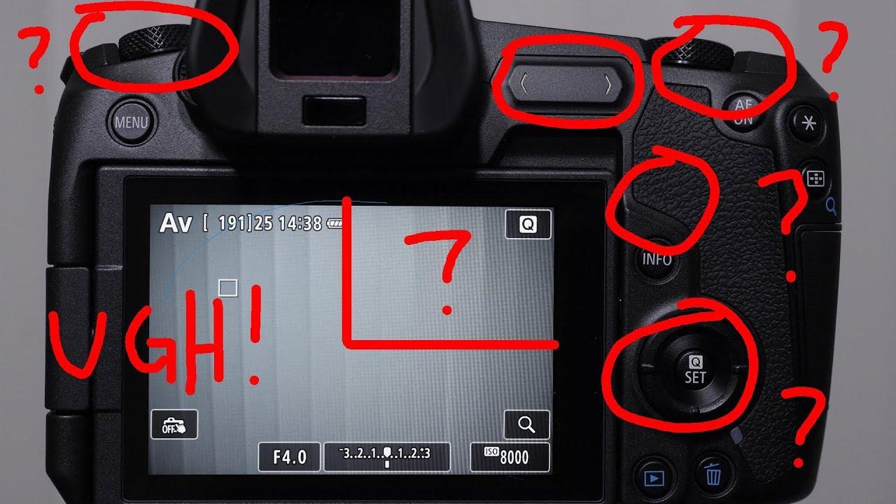 Canons EOS R vs Nikon Z7 - Misadventures in Usability