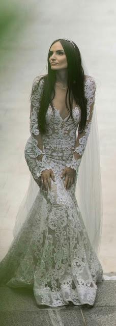 Berta Laces Bride Dress