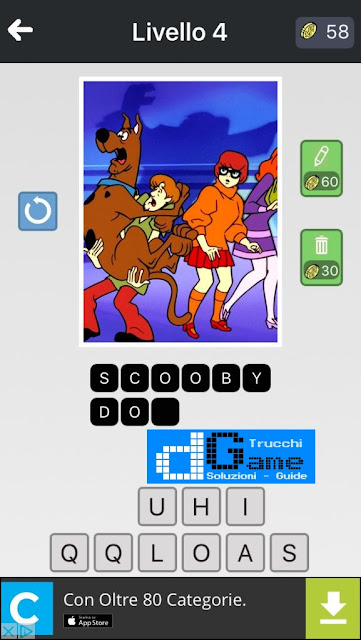 Anime Quiz soluzione pacchetto 4 livelli (1-12)