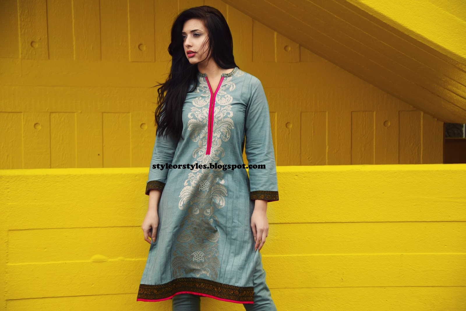 25f96d6c10e1 Style or Styles  Nimsay Fall Winter Party Wear Collection 2015-2016