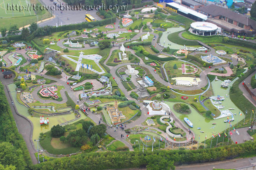 View of Mini Europe from Atomium