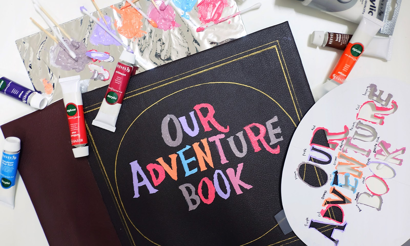 Diy Our Adventure Book Cover Inspired From Disney Pixar Up