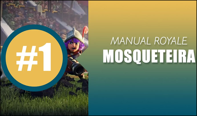 Como Usar Mosqueteira - Manual do Royale - 1