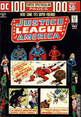 Justice League of America #110, the murder of Santa Claus, 100 pages