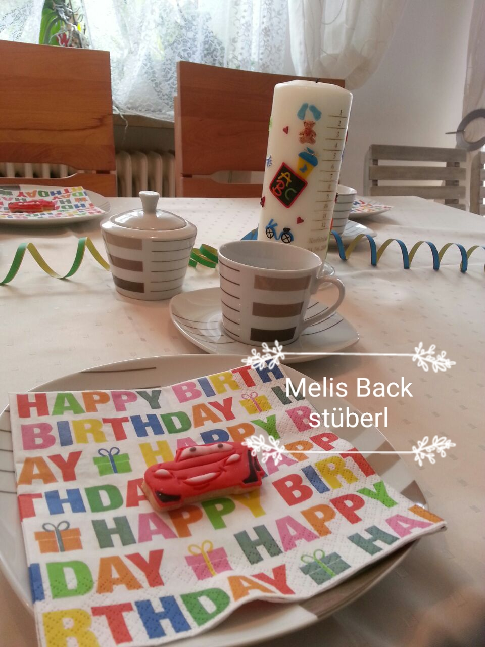 Melis backst berl kekse dekorieren lightning mcqueen von cars - Kekse dekorieren ...