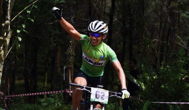 Atlet balap sepeda asal Lumajang, Zaenal Fanani
