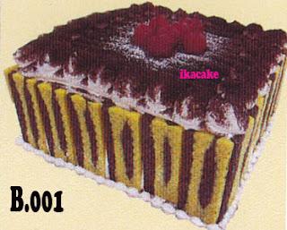 Tart Dekorasi Coklat B.001