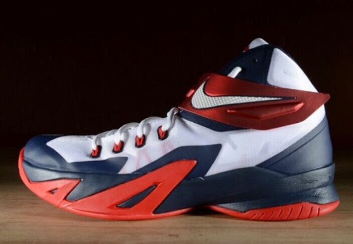 "detailing ccef7 a138b Cheap Snapbacks For Sale  Nike LeBron Soldier 8 ""USA"" will be on sale"