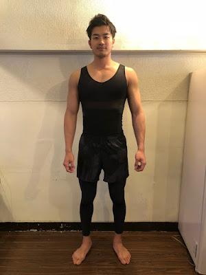 【aLOVIN'婭薇恩】Riku Yuasa:台湾みやげの加圧シャツと着圧レギンス レビュー