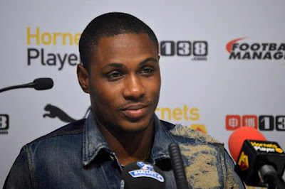 Odion Ighalo is Watford's third highest earner as he earns £30,000 per week salary