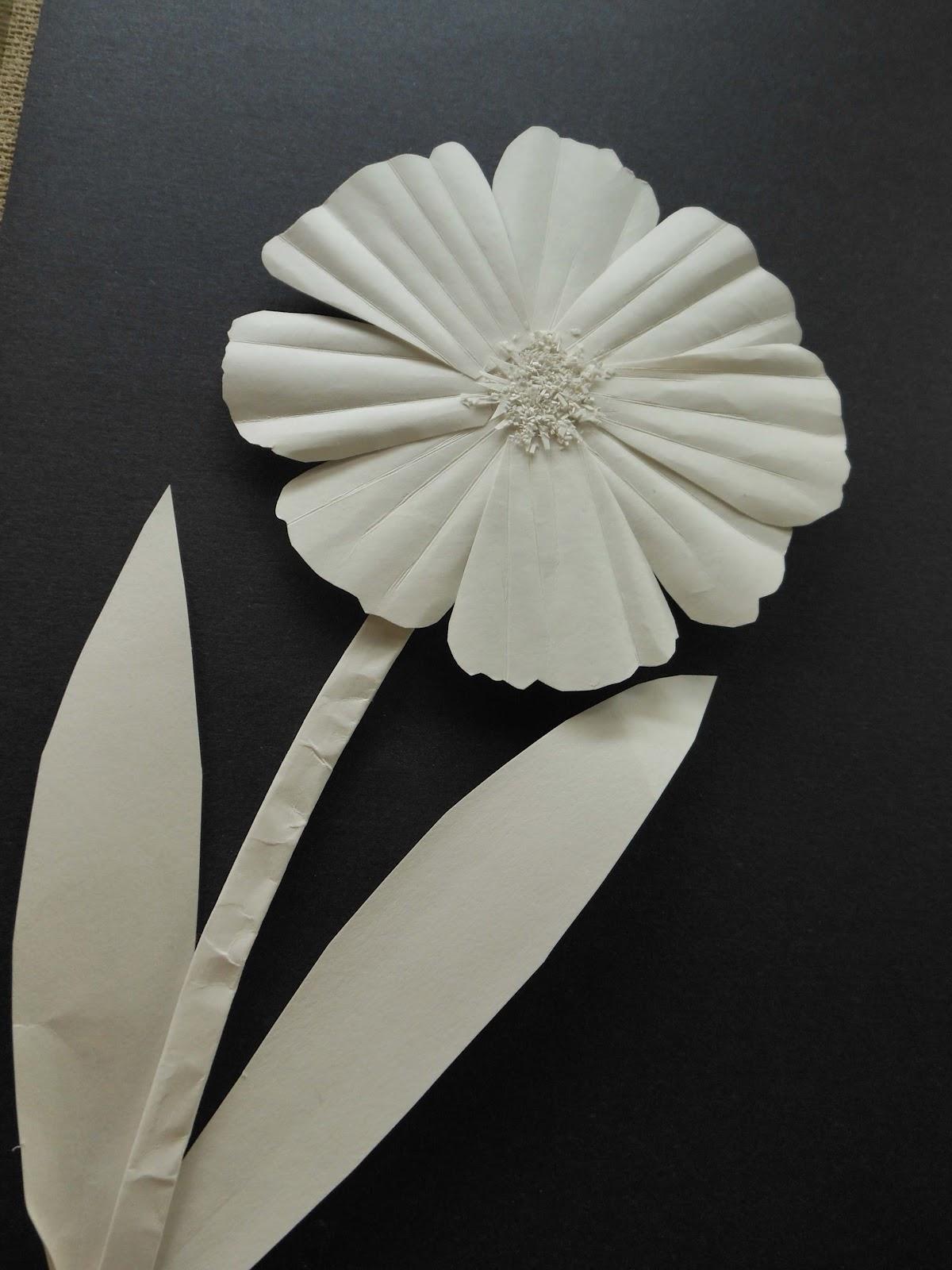 Negativespace White Paper Sculpture