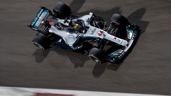 Abu Dhabi GP : Lewis Hamilton
