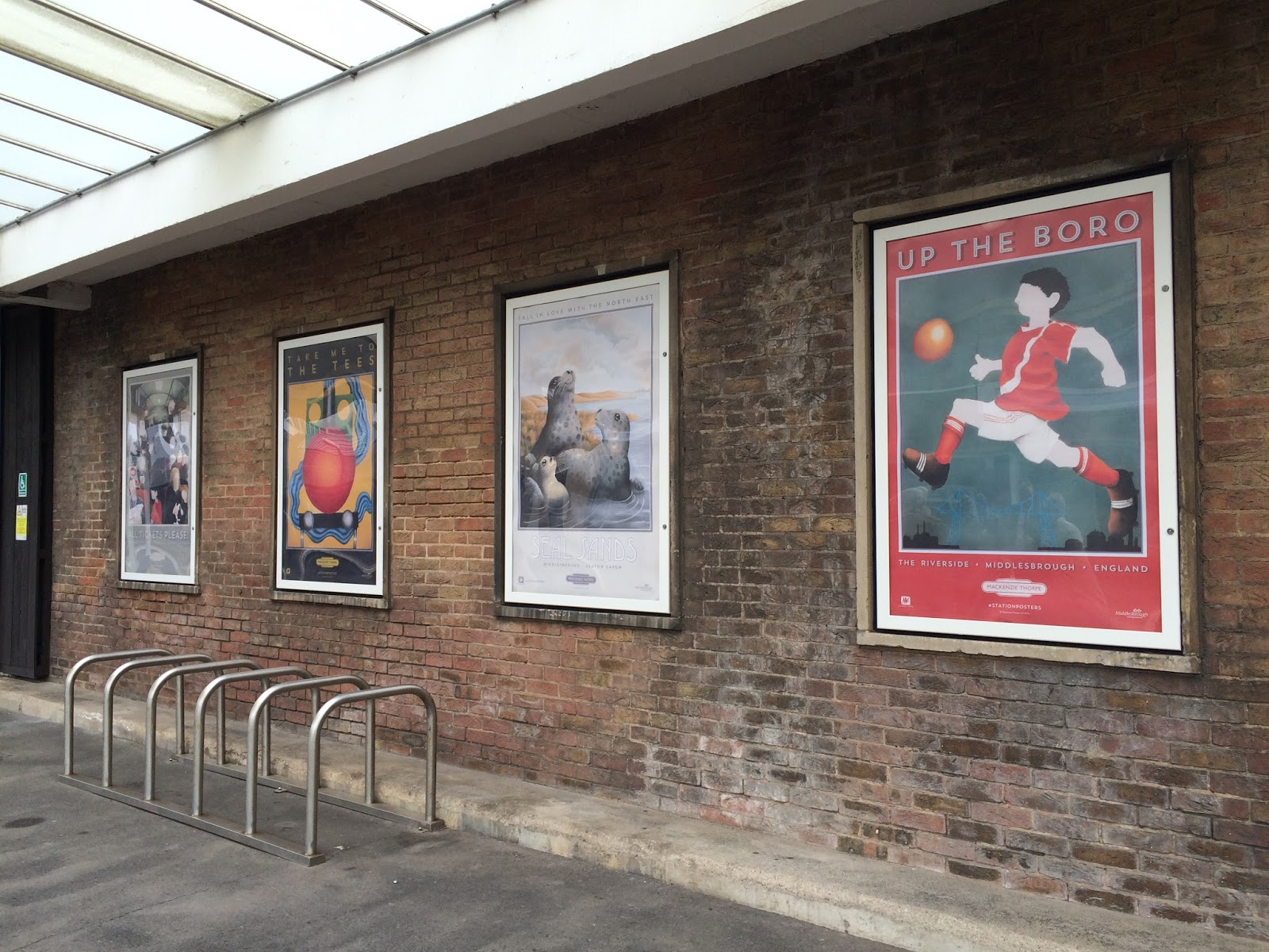 Mackenzie Thorpe Station Posters Middlesbrough