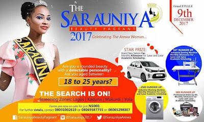 SARAUNIYA BEAUTY PAGEANT FORM ON SALE NATIONWIDE