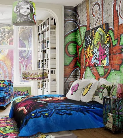 Wheres the karma cool murals for inside your house not - Cool designs to paint ...