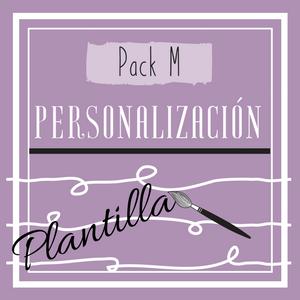 Cartel Pack M (personalización plantilla)