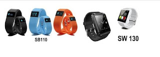 SW130 smartwatch and SB110 smart band.