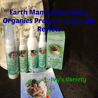 earth mama angel baby organics pregnancy essentials bundle review