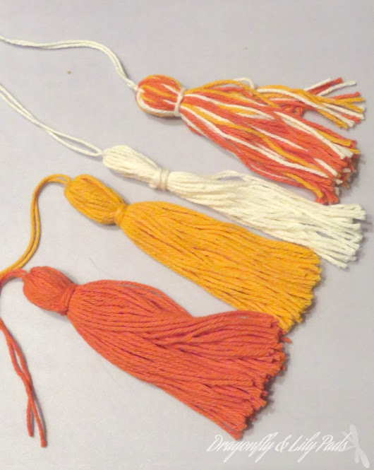 Back Pack Tassel Tutorial